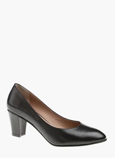 Kalın Topuklu Deri Ayakkabı-Divarese